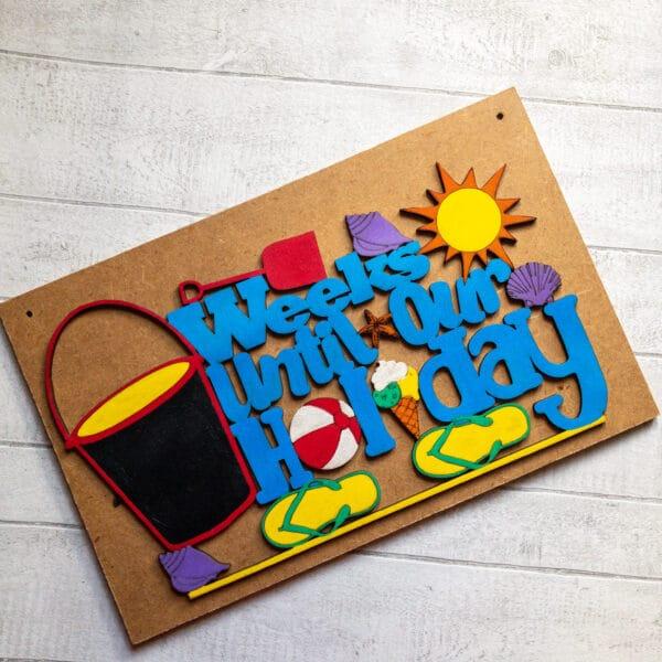 Holiday Countdown Board - main product image