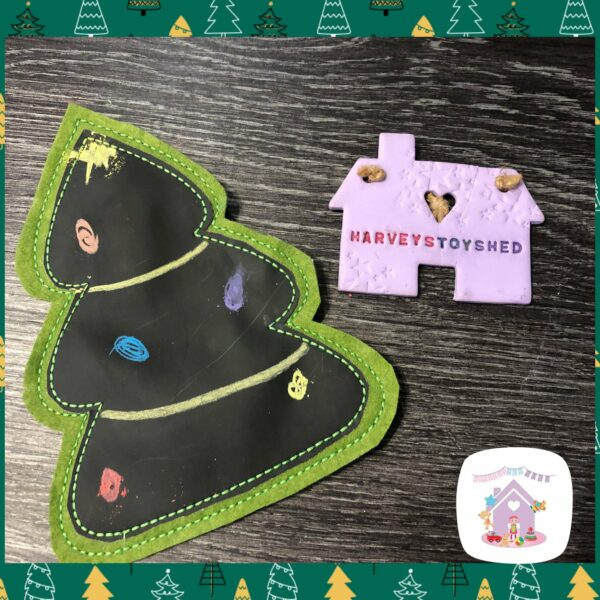 Children's Christmas Chalkboards - product image 3