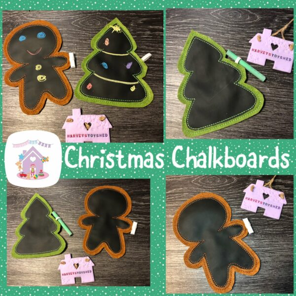 Children's Christmas Chalkboards - main product image