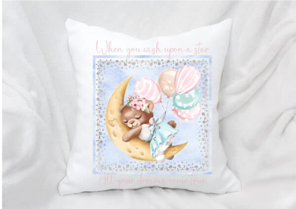 Wish upon a Star Baby cushion/cover. - main product image
