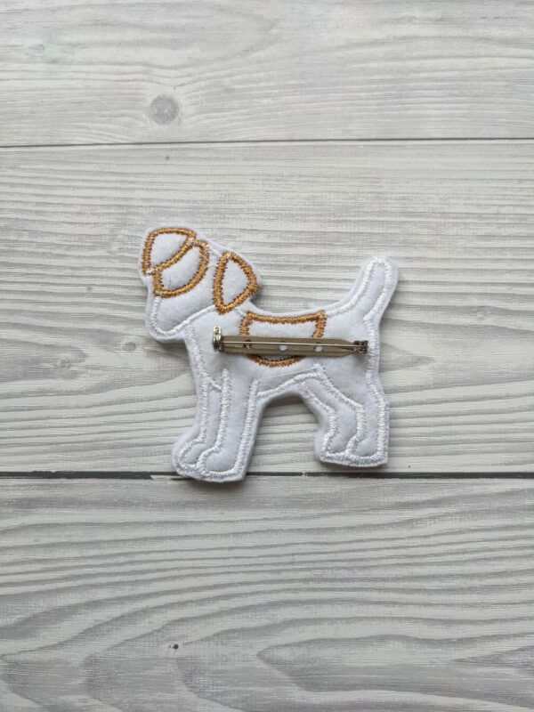 Cute Jack Russell Brooch - product image 3