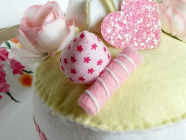 Birthday cake decoration or play food . - product image 2