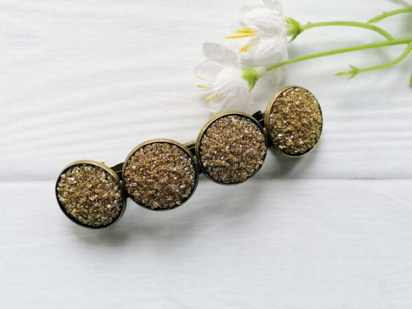 Gold Hair Barrette - main product image
