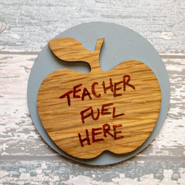 Teacher slogan coasters - product image 2