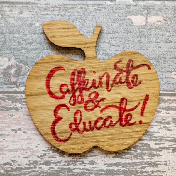 Apple shaped coaster - main product image