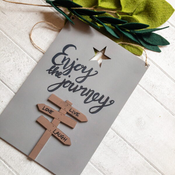 Motivational Quote Signs, home decor and friendship gifts - main product image