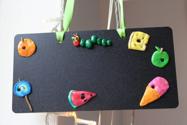 Hungry Caterpillar Hanging Plaque - main product image