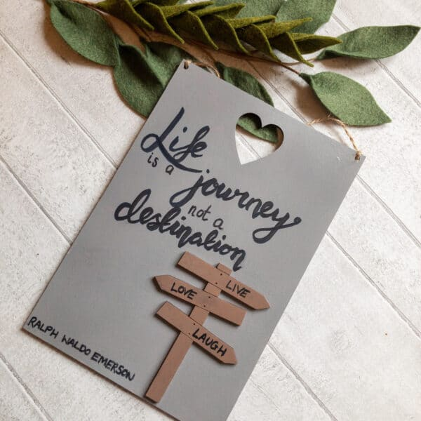Motivational Quote Signs, home decor and friendship gifts - product image 2