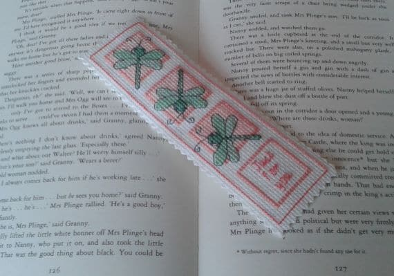 Just for You Dragonfly Bookmark - main product image