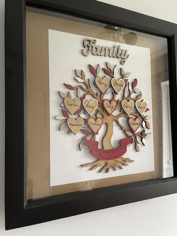Family Tree Box Frame - product image 3