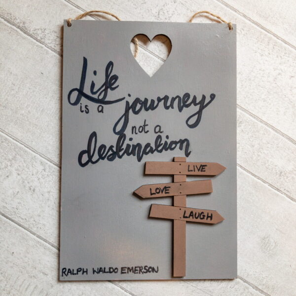Motivational Quote Signs, home decor and friendship gifts - product image 3
