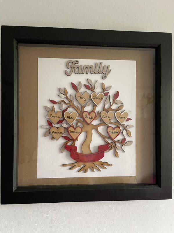 Family Tree Box Frame - product image 4