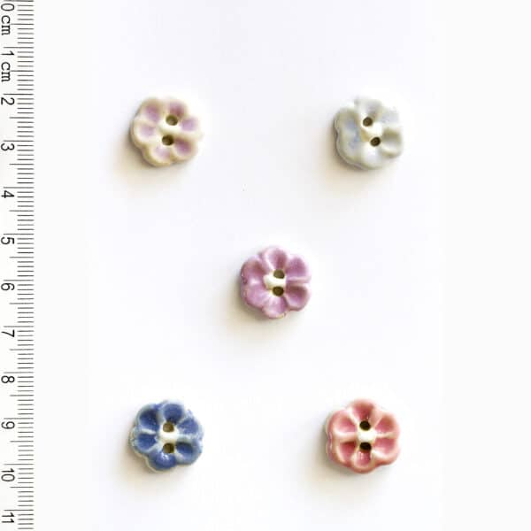 Flower Buttons L572 - main product image