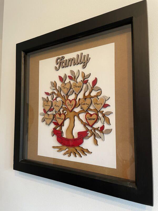 Family Tree Box Frame - product image 5