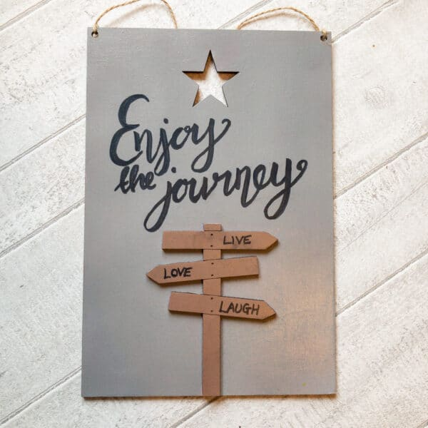 Motivational Quote Signs, home decor and friendship gifts - product image 4