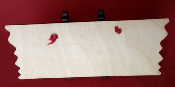 Cross Stitch Wooden Plaque Hanger – DIY Dad - product image 2