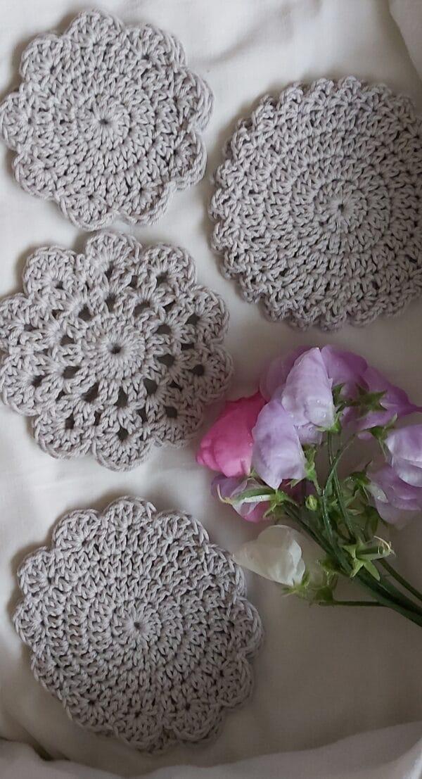 Crochet Coasters. Set of 8 - main product image