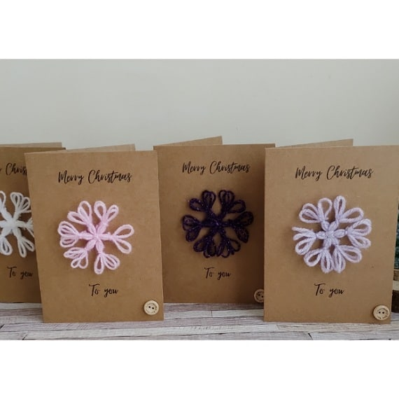 Snowflake Christmas cards - product image 2
