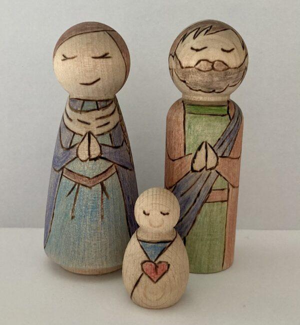 Peg people nativity - product image 5