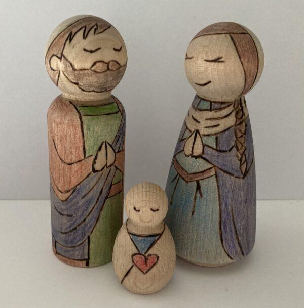 Peg people nativity - product image 2