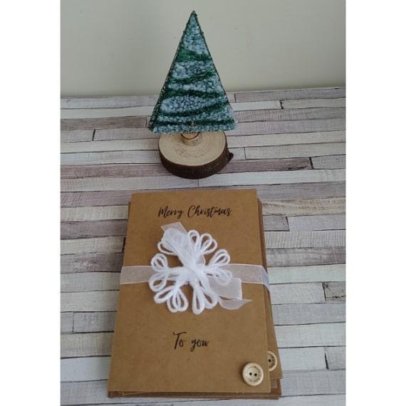 Snowflake Christmas cards - product image 3
