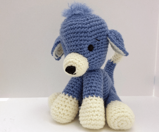 Amigurumi Crochet Puppy Dog PATTERN – PDF Download - main product image