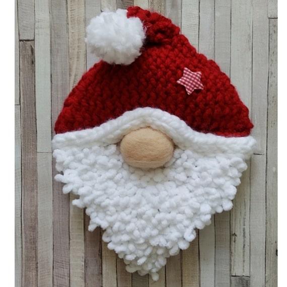 Santa gonk wreath - main product image