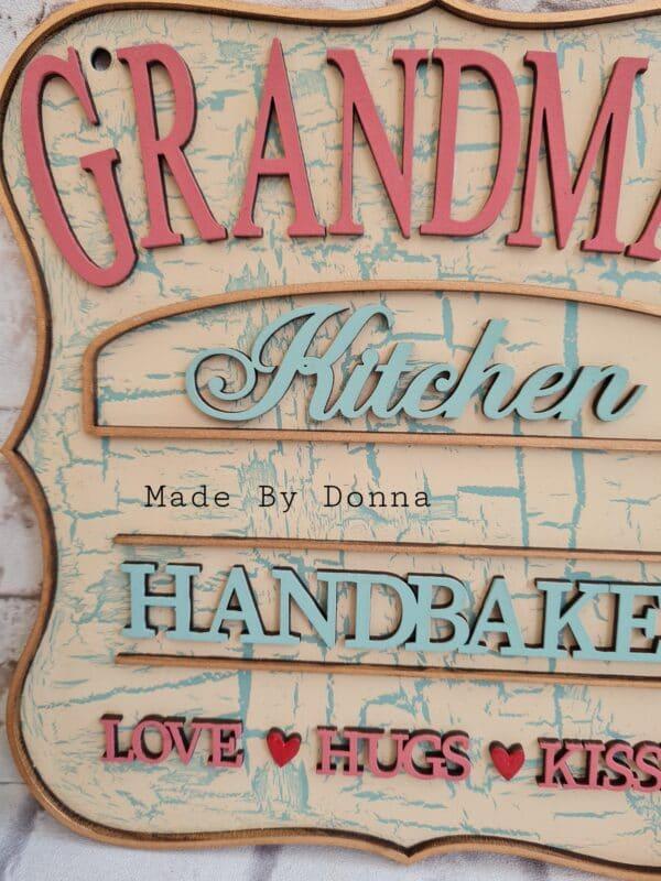 Grandmas kitchen plaque - product image 5