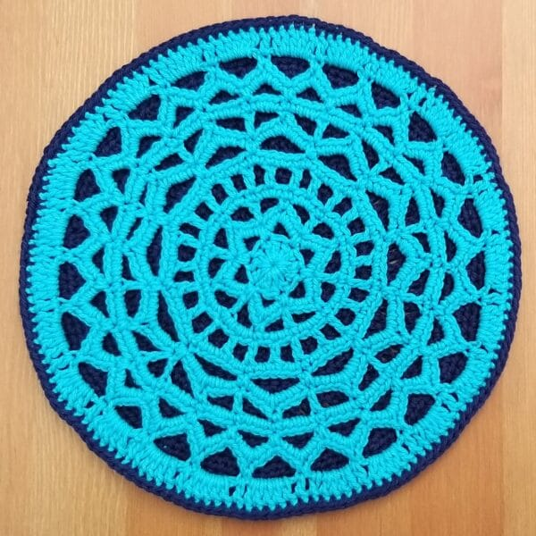 Geometirc Mandla Hot Pad Table Mat Table Centre Piece - product image 2
