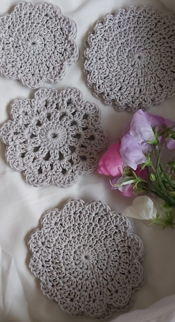 Crochet Coasters. Set of 8 - product image 3