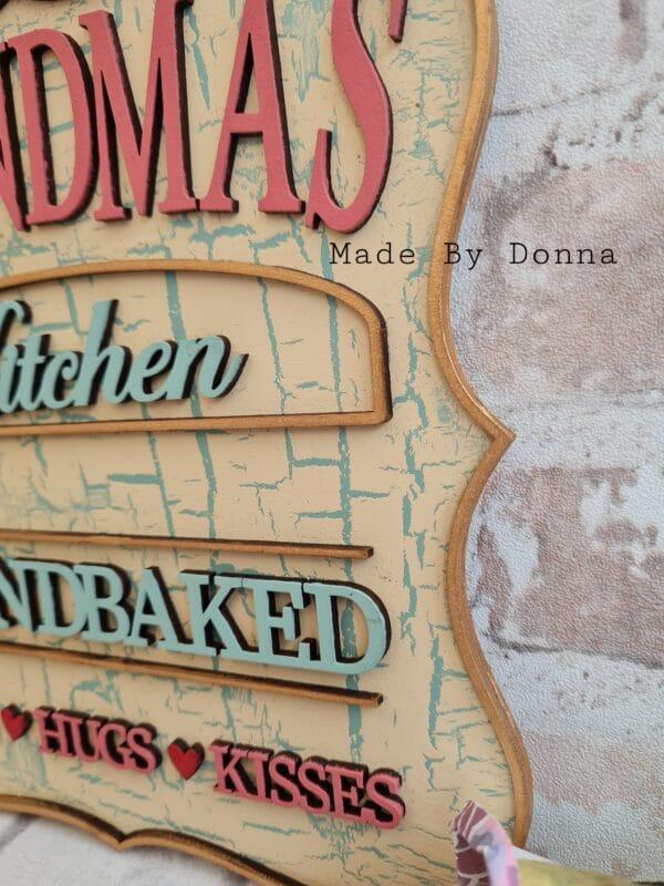 Grandmas kitchen plaque - product image 3