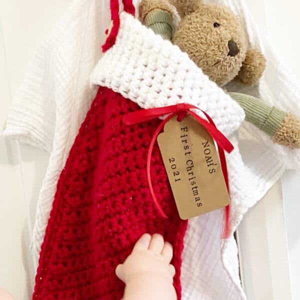 Personalised Christmas stocking - product image 5