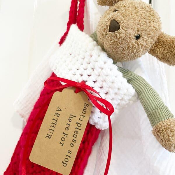 Personalised Christmas stocking - product image 2