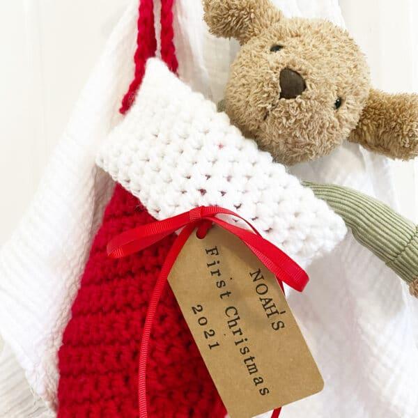 Personalised Christmas stocking - product image 4