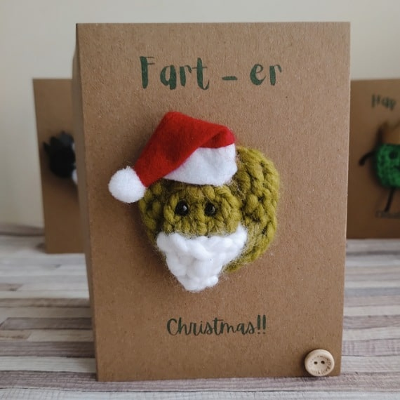 Personalised fun Christmas cards - main product image