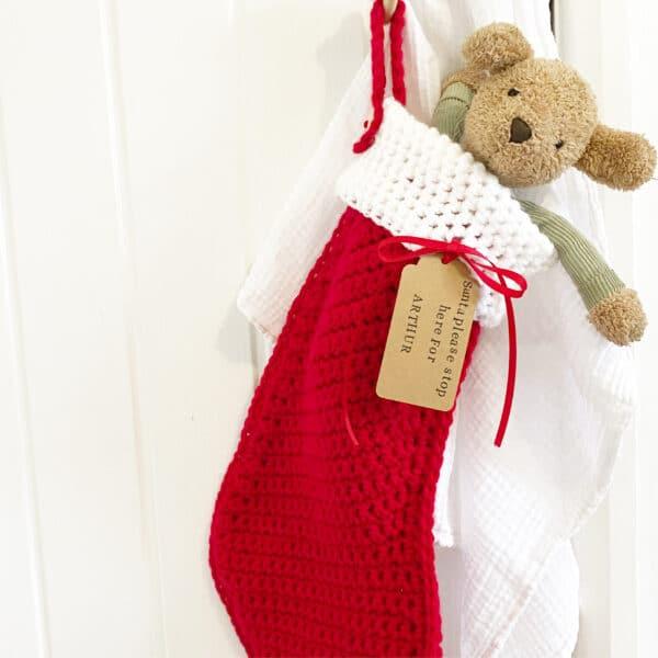 Personalised Christmas stocking - product image 3