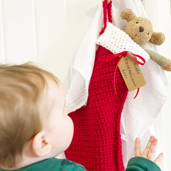 Personalised Christmas stocking - main product image