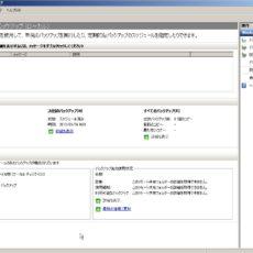 Windows Server バックアップ スケジュールされたバックアップの実行を停止する