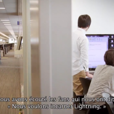 "LRFFXIII 第1制作部インタビュー動画 『LIGHTNING RETURNS – Making-of ""Inside The Square"" (1ère partie)』"