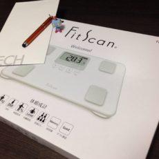 IT系派遣会社パソナテックのキャラクター名付け親コンテストに応募。タニタの体組成計『FitScan』をもらったよ
