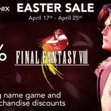 【海外】PC版FFVIIIが半額セール!その頃日本では…!!