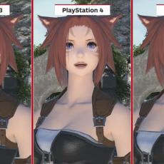 新生FFXIV PS3版、PS4版、PC版の比較動画