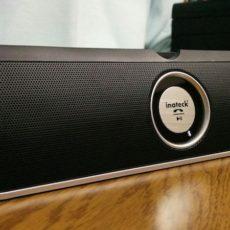ワイヤレス&コンパクトなのにびっくりするほどの大音量『Inateck ポータブルBluetoothスピーカー BP2001』レビュー