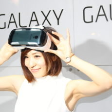 装着したら映画館?東京ゲームショウ2014 GALAXYブースでヘッドマウントディスプレイ『Gear VR』を体験してきました