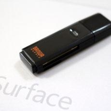 Surfaceにも最適なUSB3.0対応SDカードリーダー『サンワダイレクト 400-ADR303BKAZ』レビュー