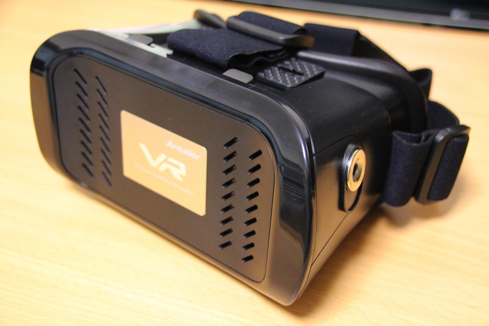 簡易VRゴーグルとしてはクオリティが高くコスパも良い。Arealer 3DVRゴーグルレビュー
