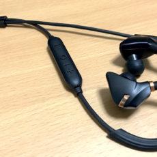 抜群のフィット感。手堅い印象のIPX7防水Bluetoothイヤホン『iina-style IS-BTEP04M』レビュー