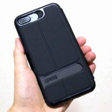 特許取得の衝撃吸収素材D3O採用『Gear4 iPhone 7 Plus用 手帳型スマホケース』レビュー