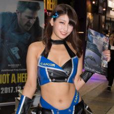 東京ゲームショウ2017 コンパニオンさん写真まとめ(CAPCOM) #TGS2017