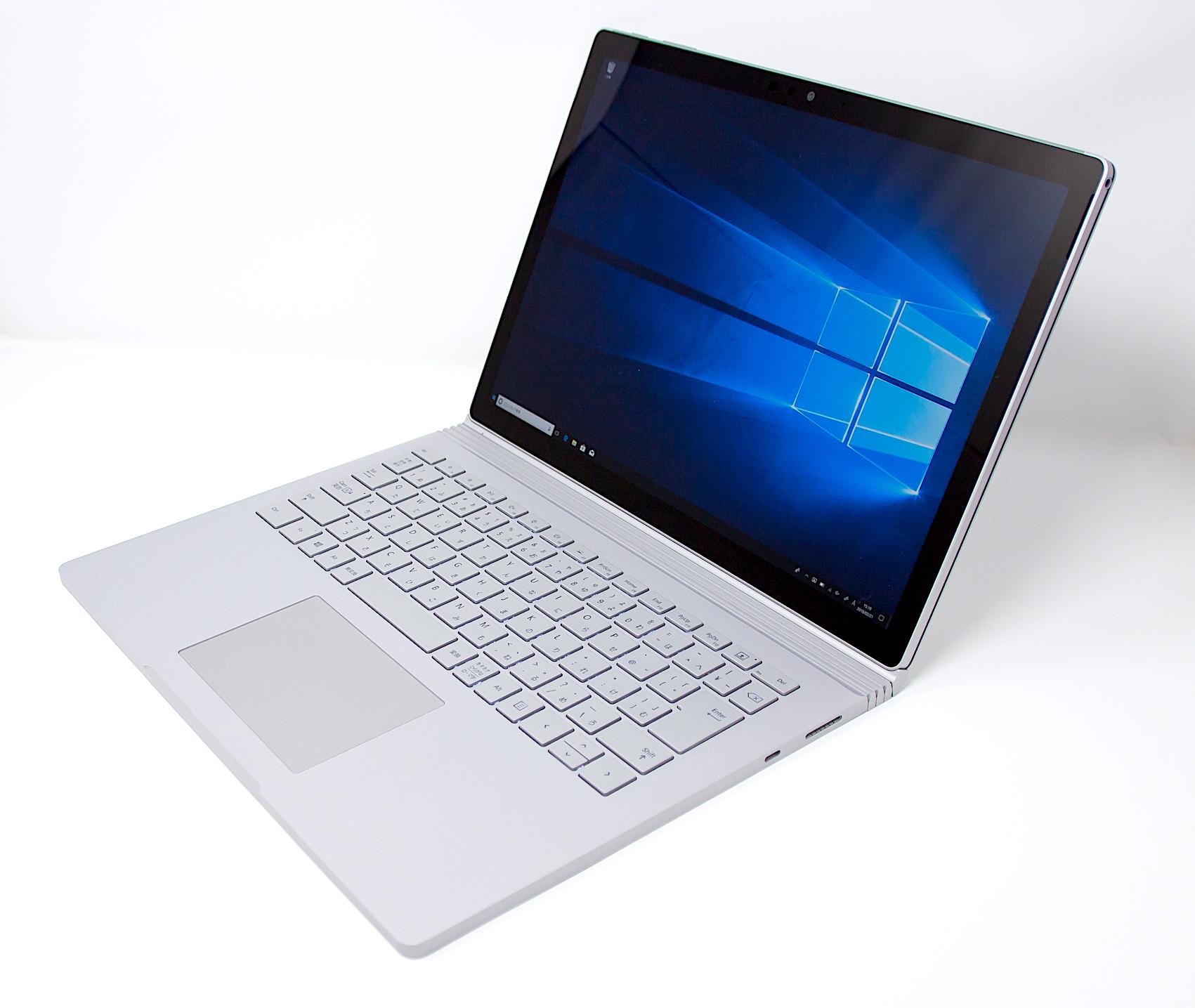 GeForce GTX 1050を搭載したMicrosoft究極のノートPC『Surface Book 2』レビュー